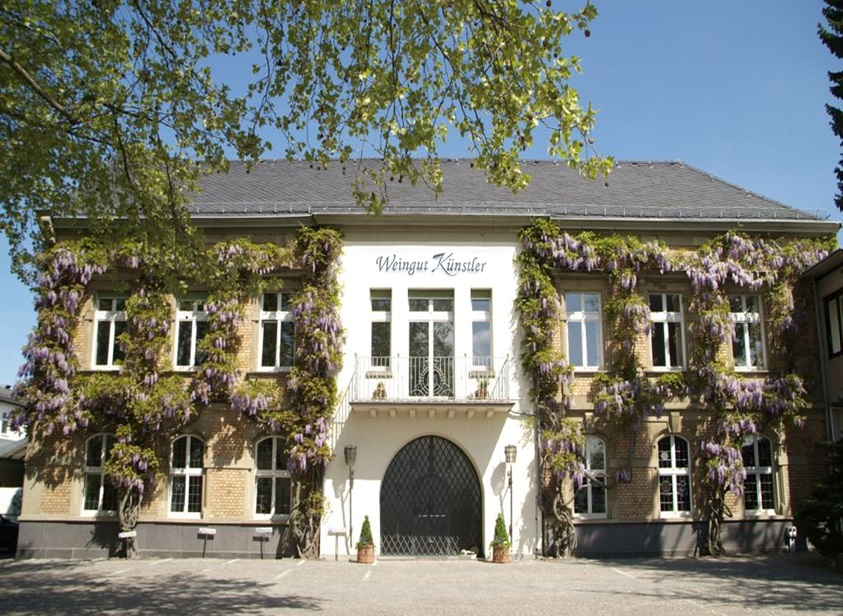 "Relocation of Weingut Künstler to the defunct ""Burgeff"" sparkling winery"